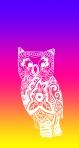 NeonRainbow Owl 1