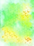 Yellow&Green Geometric Design